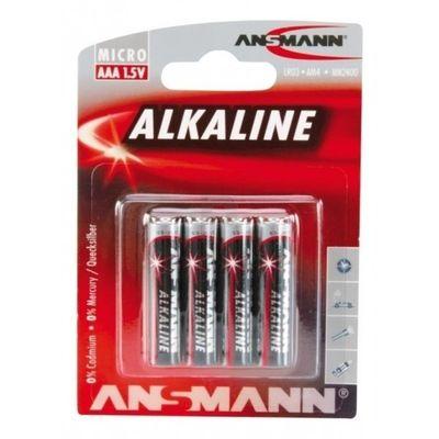 Foto van Ansmann Alkaline AAA-batterijen