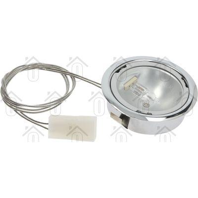 Smeg Lamp Spot 20W Halogeen compl. Rand chroom 824610570