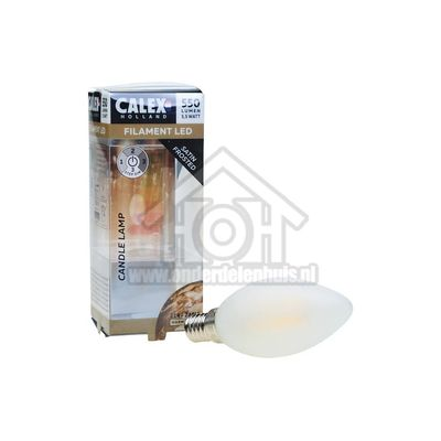 Foto van Calex Ledlamp Satin Mat LED KaarsLamp B35 3 Step E14 550Lm 2700K 1,3-2,8-5,5W 422214