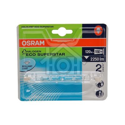 Osram Halogeenlamp Haloline ESS R7s 114mm Buislamp 120W 230V 2250lm 4008321977656