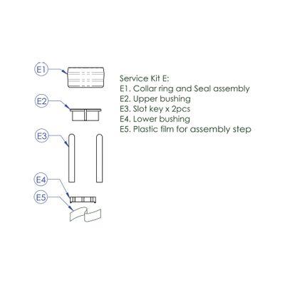 Contec Service Kit E Drop Service Kit E: Afsluitring Incl. Afdichting