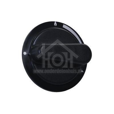 Atag Knop gas -antraciet/zwart- OG155P5H-HG400B, OG111S5H 35702*