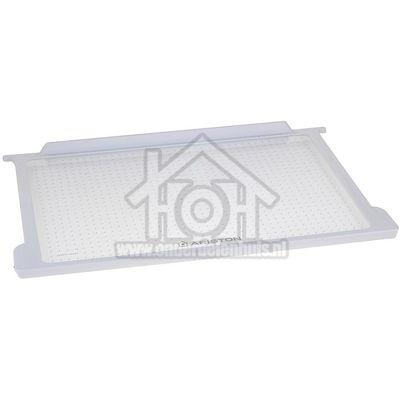 Ariston-Blue Air Glasplaat 470x303x14 + omranding BC312,BO1920, C00284844