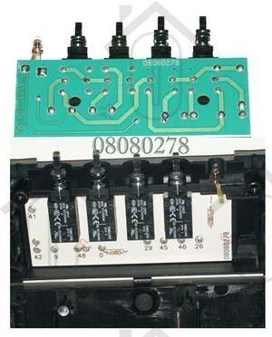 Foto van Ariston-Blue Air Schakelaar druktoets unit met lamp H3890, H3860 C00133075