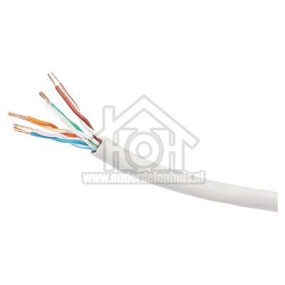 Foto van Cablexpert Aansluitkabel UTP Cat. 5E Lan-kabel 305 meter, Grijs CCA UPC-5004E-L
