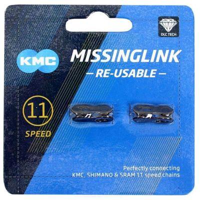 KMC Sluitschakel MissingLink 11R DLC zwart 5.65mm (2)
