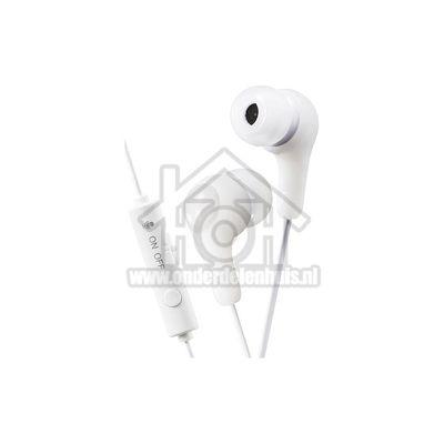 JVC Hoofdtelefoon Gumy, In Ear met microfoon en bediening Gaming HAFX7GWE