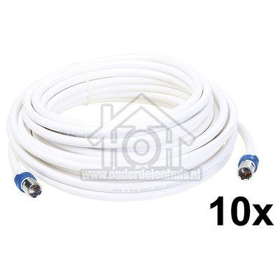 Foto van Hirschmann Aansluitkabel CATV aansluitkabel F male connector F-FKAB 5/10m 695021510