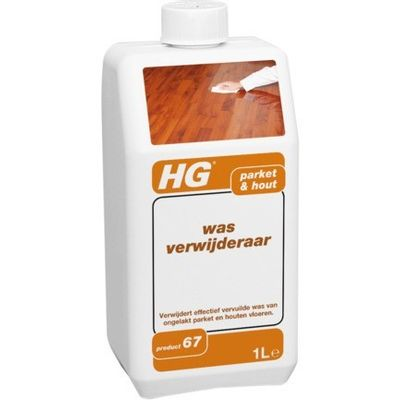 Foto van HG Reiniger Wax remover HG product 67 270100100