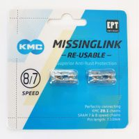 KMC Sluitschakel MissingLink 7/8R EPT zilver 7.10mm 7/8v(2)