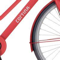 Cortina v spatb 28 Common true red matt