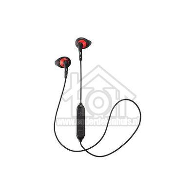 JVC Hoofdtelefoon Draadloze oordopjes, Bluetooth, Zwart Sport HAEN10BTBEF