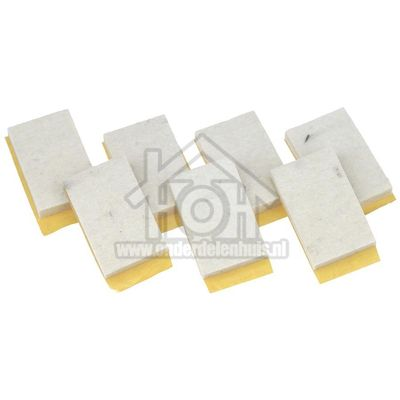Zanussi Viltband kort (7 stuks nodig) o.a MD 5 R, Z 513 1110080504265