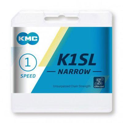 KMC ketting 1/2-3/32 100 K1SL Narrow Silver