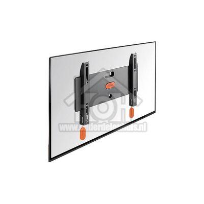 Vogels Muursteun LED/LCD Wandsteun, Flat, Zwart Schermformaat 19 t/m 37 inch, 20kg BASE05S