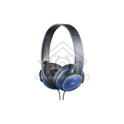 JVC Hoofdtelefoon On Ear met Superieur geluid, Opvouwbaar Blauw met 1,2 meter snoer