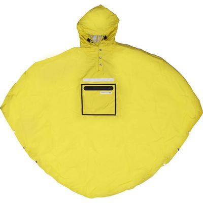 Peoples Poncho yellow volw