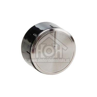 Bosch Knop Gasknop Zilver/Zwart PPP616B20E, PCR915B91E 00615769