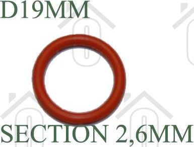 DeLonghi O-ring Afdichtingsrubber PRO650, VVX340, PRO290 6228102000