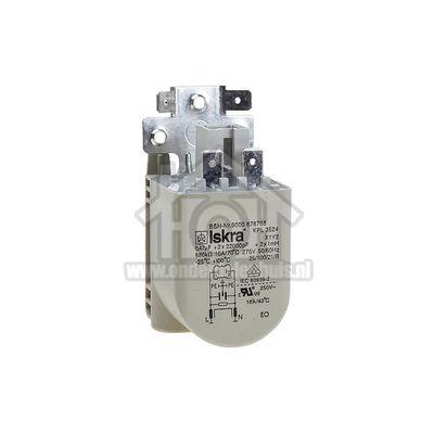 Bosch Condensator Ontstoring, 0,47Uf WAE24194, WT46Y780, WAS28743NL 00623842