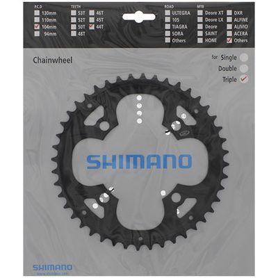 Shimano kettingblad 9V FFC-M480 44T staal 4-arm zw
