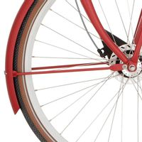 Cortina v spatb stang 28 U4 true red matt