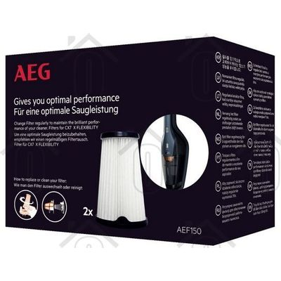 AEG Filter Vervangingsfilters CX7 modellen 9001683755