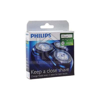 Foto van Philips Scheerkop HQ56 Super Lift& Cut heads HQ56/50