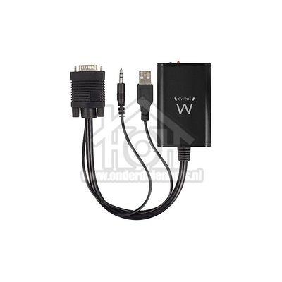Foto van Ewent Converter Converter van analoge VGA naar digitale HDMI Converteer analoge audio en