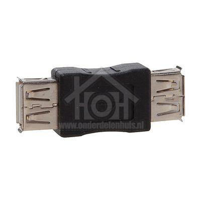 Easyfiks USB Adapter USB A Contra Female - USB A Contra Female Verloopstekker BME551