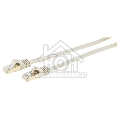 Easyfiks UTP/Netwerk kabel UTP CAT6E Netwerkkabel, RJ45 Male - RJ45 Male 2.5 Meter, Grijs