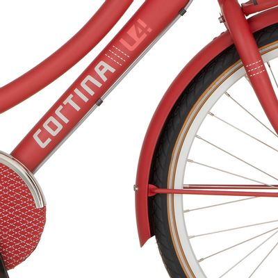 Cortina v spatb 26 U4 true red matt
