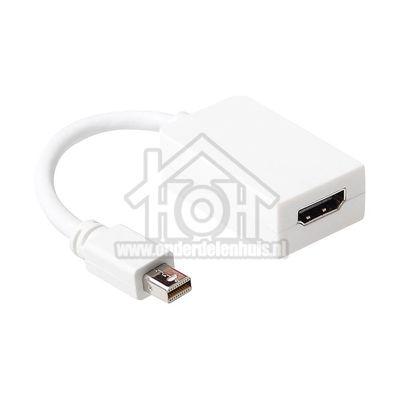 Ewent Displayport Kabel Mini DisplayPort Male - HDMI Female Verloopkabel 0,15 meter EW9861