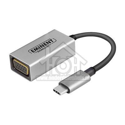 Foto van Eminent Converter USB Converter USB Type C naar VGA AB7871