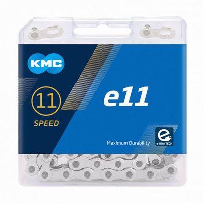 KMC ketting 1/2x11/128 122s e11 zilver 11v