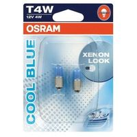 Osram autolamp Cool Blue 12V T4W BA9s