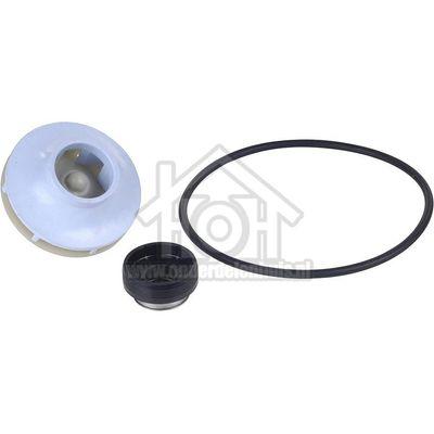 Foto van Bosch Simmering met veer van spoelpomp + schoep voor o.a. motor 489652 10013913