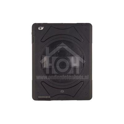 Mobilize Book Case Adventure Grip Case Black Apple iPad 2/3/4 23498
