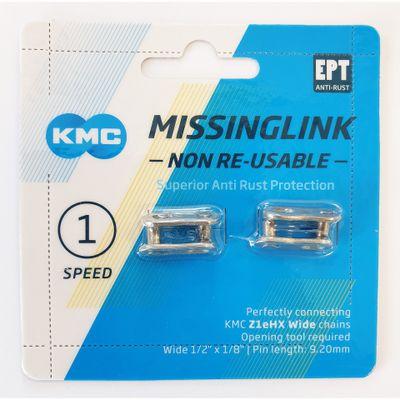 KMC Sluitschakel MissingLink Z1eHX NR EPT zilver wide(2)
