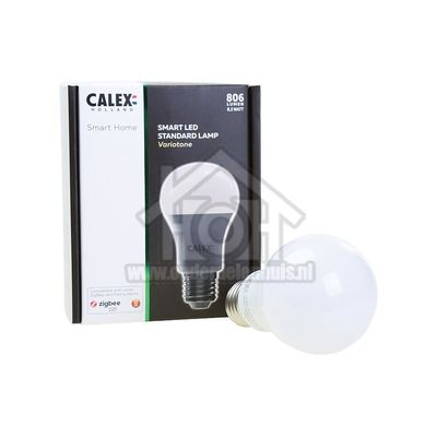 Foto van Calex Ledlamp LED Zigbee Standaard lamp E27 A60 8,5W Variotone 2700-6500K 421786
