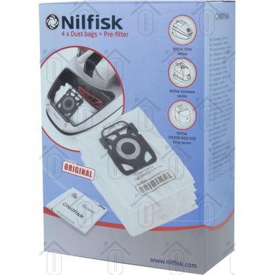 Foto van Nilfisk Stofzuigerzak X300 X150 X210, GM200,300 Extreme X110, King serie, Elite 107407940