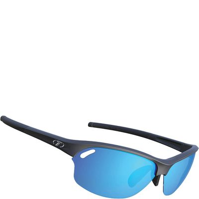 Tifosi bril Wasp mat zwart clarion blue