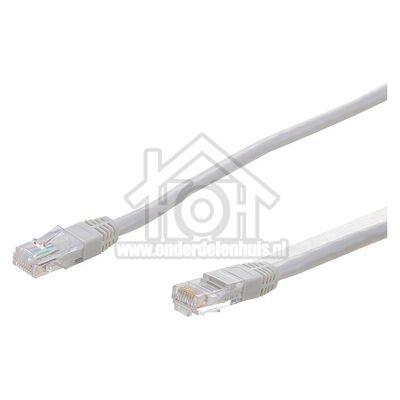 Easyfiks UTP/Netwerk kabel UTP CAT5E Netwerkkabel, RJ45 Male - RJ45 Male 1.2 Meter, Grijs