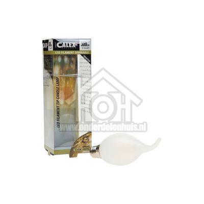 Foto van Calex Ledlamp Filament Tip-Kaarslamp 240V 3,5 Watt 300 Lumen 2700K E14 BXS35 Mat Dimbaar 474495