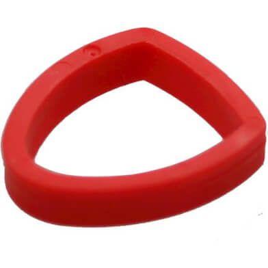 Cortina vulring midden standaard rood