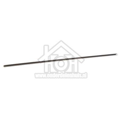 Bauknecht Strip Van glasplaat grijs 47cm KVI1604A, KRIE3004A 480131100225
