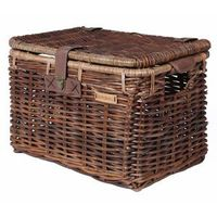 Basil Denton luxe opbergkoffer mand middle nature brown 13044