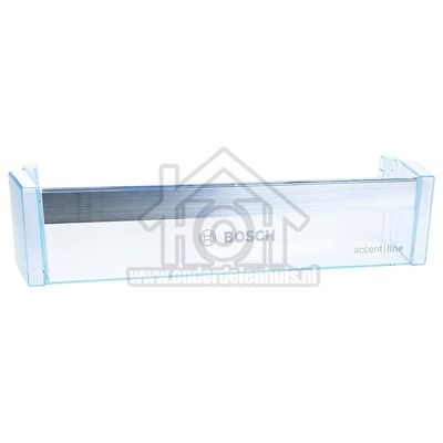 Bosch Flessenrek Transparant 420x100x112mm KIL42SD3005, BKIR41SD30 00748045