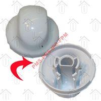 Indesit Knop Van thermostaat -wit- IWD7145, IWD6063, IWB6123 C00299586