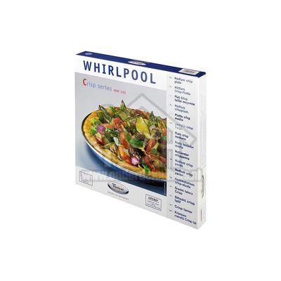 Whirlpool Plaat Crisp plaat -29cm- AVM121 -VIP 27 - 34- AVM290 480131000084
